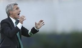 Luís Castro: «É uma partida de grande responsabilidade para nós»