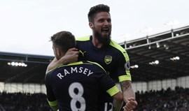 Arsenal goleia em casa do Stoke City