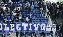 Tarjas censuradas levaram claque do FC Porto a abandonar o Dragão