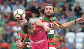 Crónica do Marítimo-Estoril, 1-1: Classe de Kléber adia Liga Europa