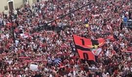A festa na Câmara de Lisboa vista pelos jogadores