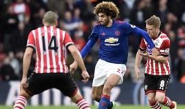 Manchester United soma quarto jogo sem ganhar
