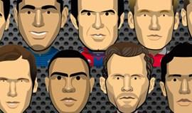 UEFA vestiu Figo à Barcelona e adeptos não gostaram