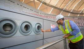 Primeiro estádio está pronto e com refrigeração de alta tecnologia