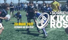 Torneio de râguebi Kiko Rosa realiza-se amanhã