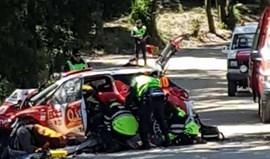 Rali de Portugal: José Pedro Fontes no hospital devido a acidente