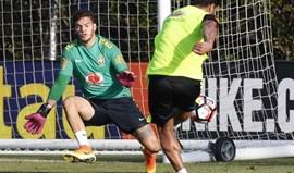 Ederson convocado para particulares do Brasil em junho