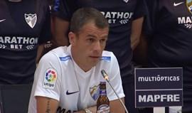 Duda confirma adeus ao Málaga no meio de muita emoção