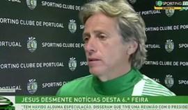 Jorge Jesus: «Reunião com Bruno de Carvalho? Estava a almoçar com amigos...»