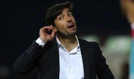 Abel Ferreira: «Vamos suar até à ultima gota por um bom resultado»