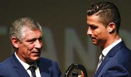 Fernando Santos e Cristiano Ronaldo distinguidos nos Prémios Bento Pessoa
