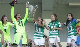 Sporting conquista título feminino após golear o Boavista