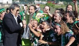 Fernando Gomes felicita Sporting pela brilhante conquista