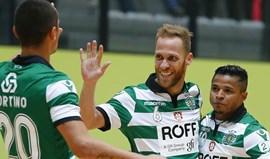 Sporting começa playoff com vitória