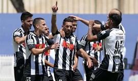 Santa Clara-Portimonense, 1-2: Triunfo garante título de campeão