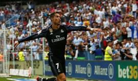Ronaldo e Benzema garantem triunfo em Málaga