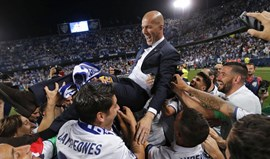 Zidane: «Profissionalmente é o dia mais feliz da minha vida»
