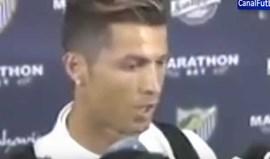 Cristiano Ronaldo irritado: «Falam de mim mas não sabem um c...»