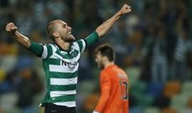 Bas Dost marcou metade dos golos do Sporting
