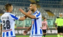 Pescara volta às vitórias três meses depois