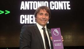 Conte eleito treinador do ano da Premier League