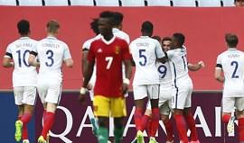 Inglaterra fez homenagem às vítimas de Manchester no jogo frente à Guiné