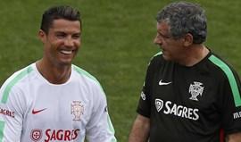 Fernando Santos: «Cristiano Ronaldo é um trabalhador incansável»