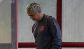 Mourinho reage a atentando com mensagem de pesar mas também de esperança