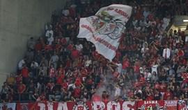 Benfica e Sporting com multas pesadas devido aos adeptos