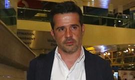 Marco Silva chegou a Lisboa... em silêncio absoluto