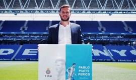 Valencia confirma saída de Piatti para o Espanyol
