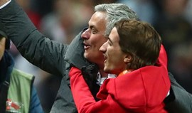 Mourinho e a festa com o filho: «O gajo está pesado. Ou eu estou fraco...»
