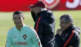 Fernando Santos: «Ronaldo está convocado e vai jogar»
