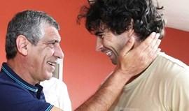 Fernando Santos revela pedido enviado a Tiago