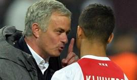 Mourinho avisou filho de Kluivert: «Em 2018 vens para o Manchester»