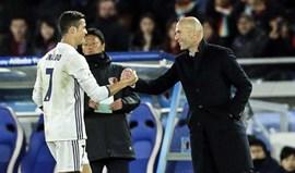 Zidane: «Não há palavras que façam justiça a Ronaldo»