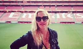 Madonna esteve na Luz e referiu o glorioso