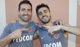 Bernardo Silva e João Moutinho: Fartos um do outro mas já sentem saudades