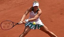 Angelique Kerber eliminada na primeira ronda