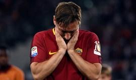 Totti: «Não é fácil desligar a luz, sinto medo»