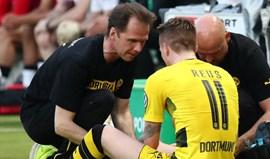 Reus tem rotura parcial de ligamento do joelho e vai parar vários meses