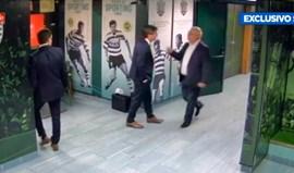 Bruno de Carvalho e Carlos Pinho constituídos arguidos no 'caso do túnel de Alvalade'
