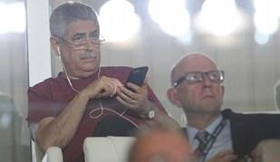 Luís Filipe Vieira viu a festa do Monaco