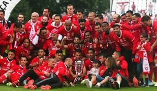 Benfica, o rei das dobradinhas nas grandes ligas europeias