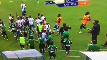 Juniores: confusão no final do FC Porto-Sporting