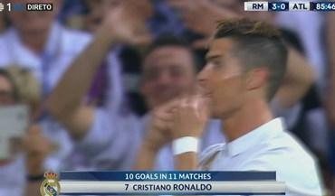 Ronaldo para os adeptos: assobios 'não', palmas 'sim'...