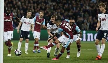 Tottenham perde com West Ham e pode ver fugir o Chelsea