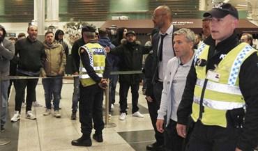 FC Porto recebido com insultos no regresso a casa
