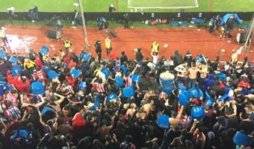As cadeiras que voaram do Vicente Calderón... para casa dos adeptos!