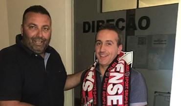 Nuno Lopes é o novo treinador do Sacavenense